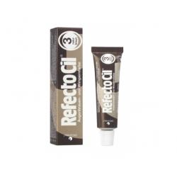 REFECTOCIL краска для бровей и ресниц EYELASH AND EYEBROW TINT №3 коричневый 15мл.